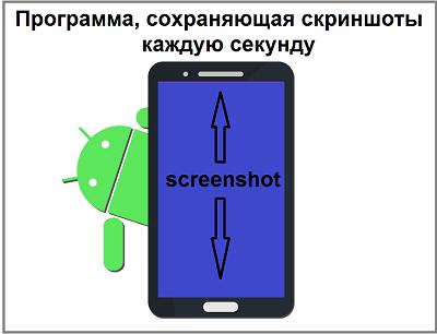 Программа, сохраняющая скриншоты каждую секунду