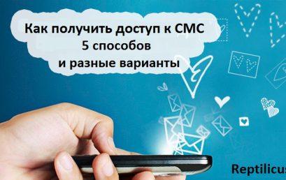 Как получить доступ к СМС – 5 способов и разные варианты