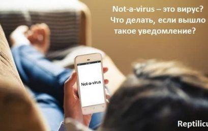 К какому классу угроз относится Not-a-virus